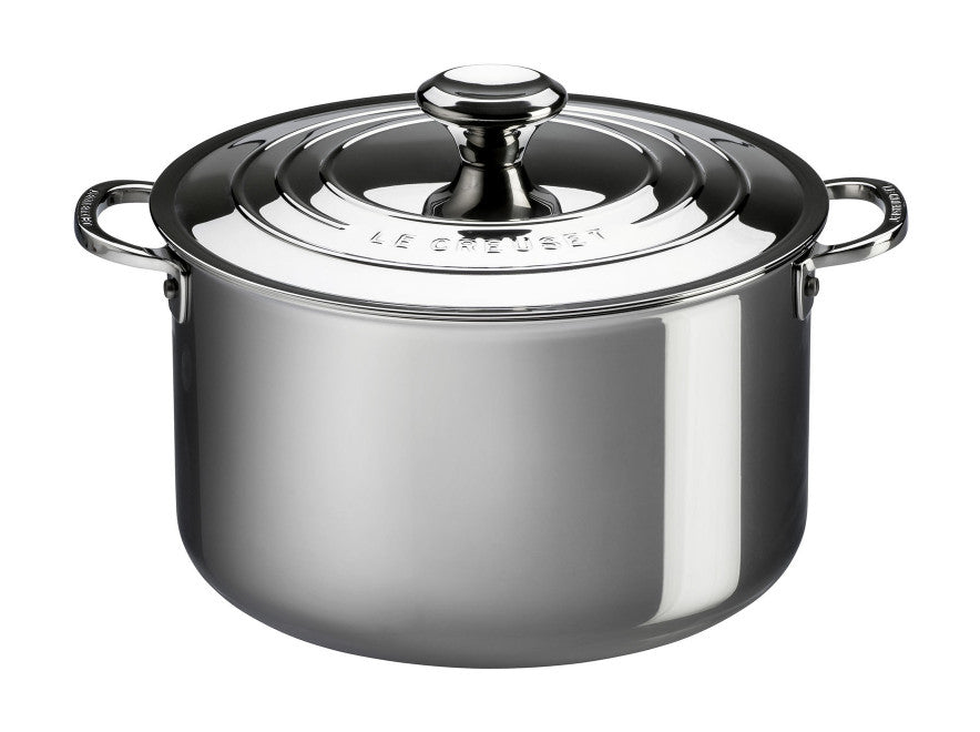 Le Creuset Stainless Steel Stockpot 6.6L