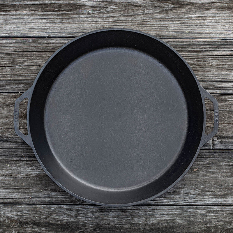 Lodge Cast Iron Dual Handle 17 Inch