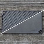 Load image into Gallery viewer, Lodge Reversible Griddle 16.75 x 9.5""