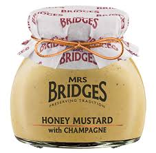 Mrs. Bridges Honey Mustard with Champagne