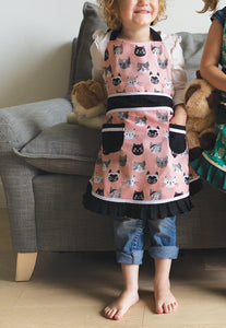 NOW Designs Sally Kids Apron - Cats Meow