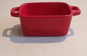 NOW Designs Mini Loaf Pan Red