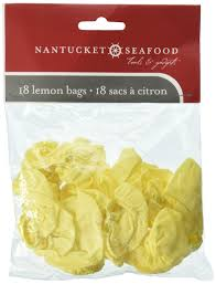 Nantucket Seafood Lemon Bags 18