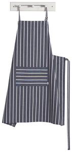 NOW Designs Mighty Butcher Stripe Apron - Navy