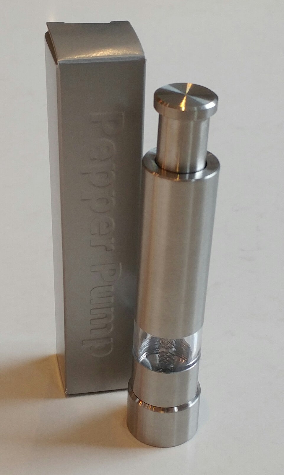 Puddifoot Stainless Steel Pepper Pump
