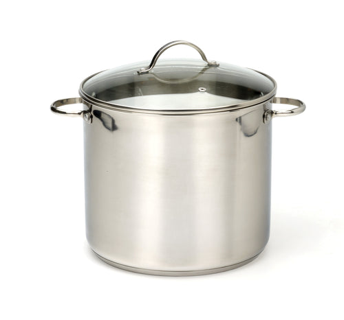 RSVP Stainless Steel Stock Pot 8qt