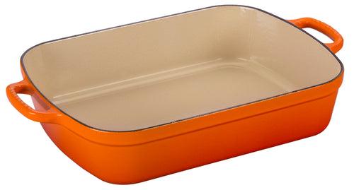 Le Creuset Rectangular Roaster 4.9L - Flame