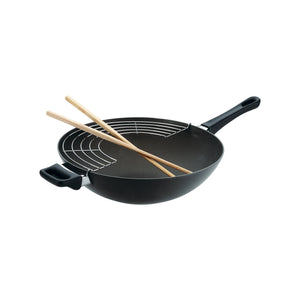 Scanpan Classic Wok with Rack n' Sticks 32cm/12.5""