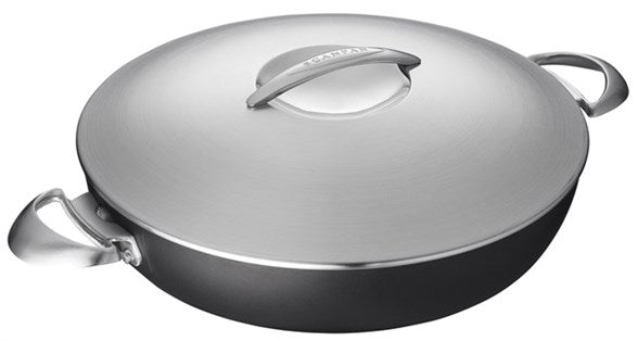 Scanpan Chef Pan with Steel Lid 32cm
