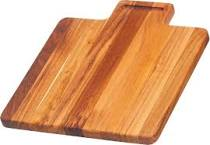 Teakhaus Board Rectangular with Grooved Lip Handle