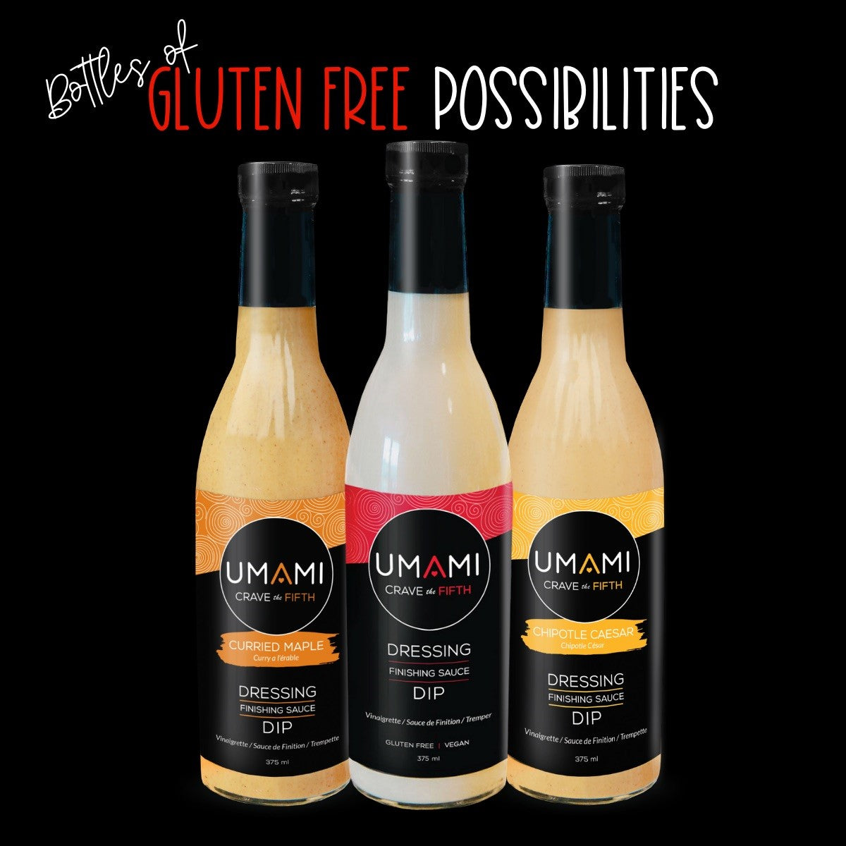 Umami Dressing and Dip - Curried Maple 375mL