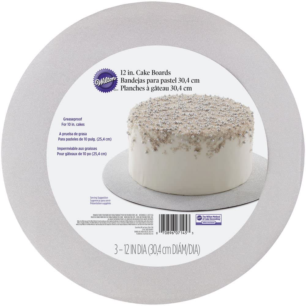 "Wilton Cake Board 12"" Pack"