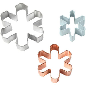 Wilton Holiday Cookie Cutter Set - Snowflakes