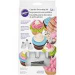 Load image into Gallery viewer, Wilton Cupcake Decorating Set