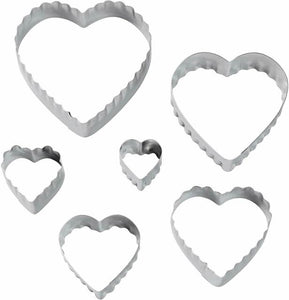 Wilton Double Cut-Outs Set Heart