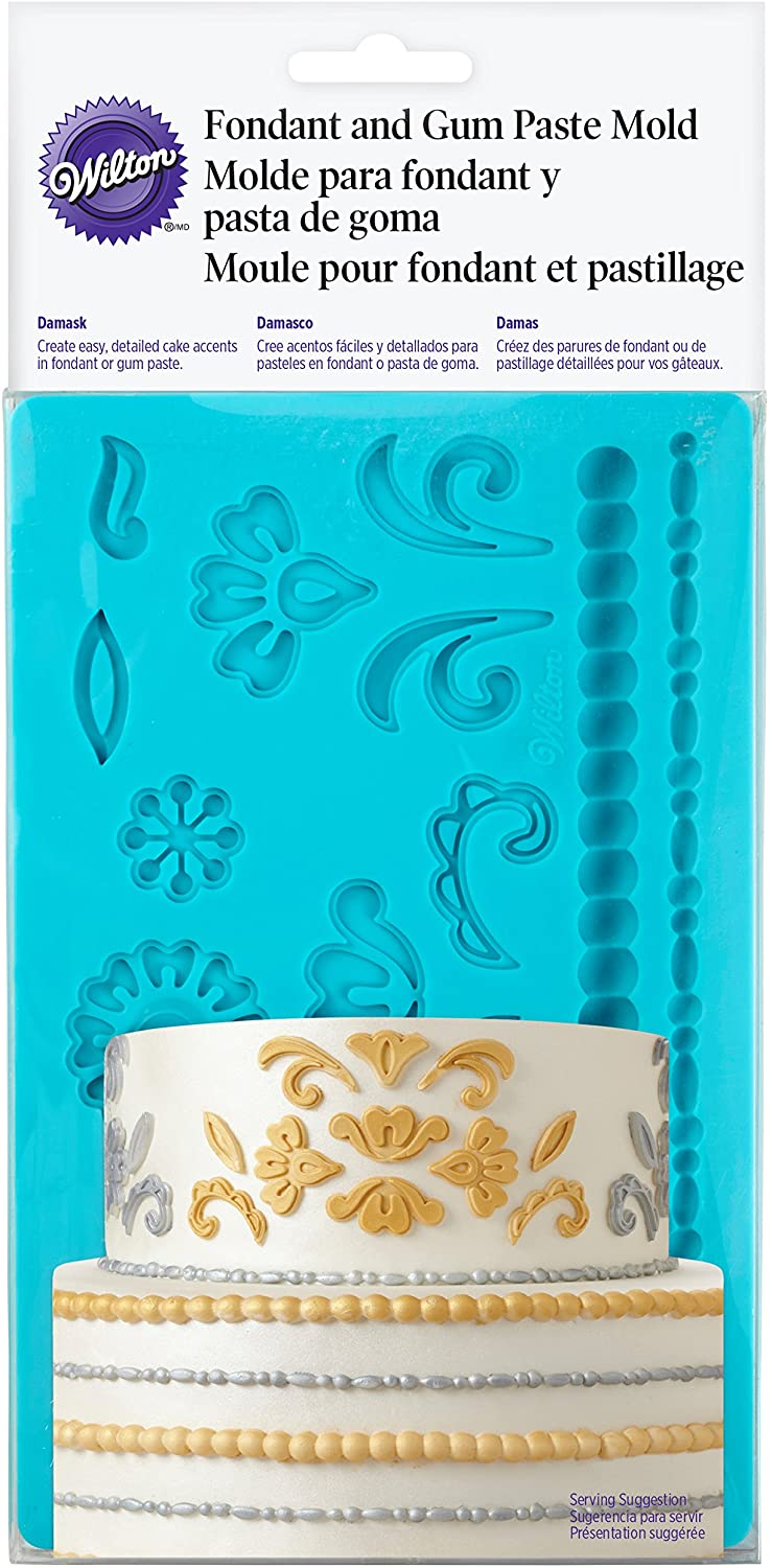 Wilton Fondant & Gum Paste Damask Mold