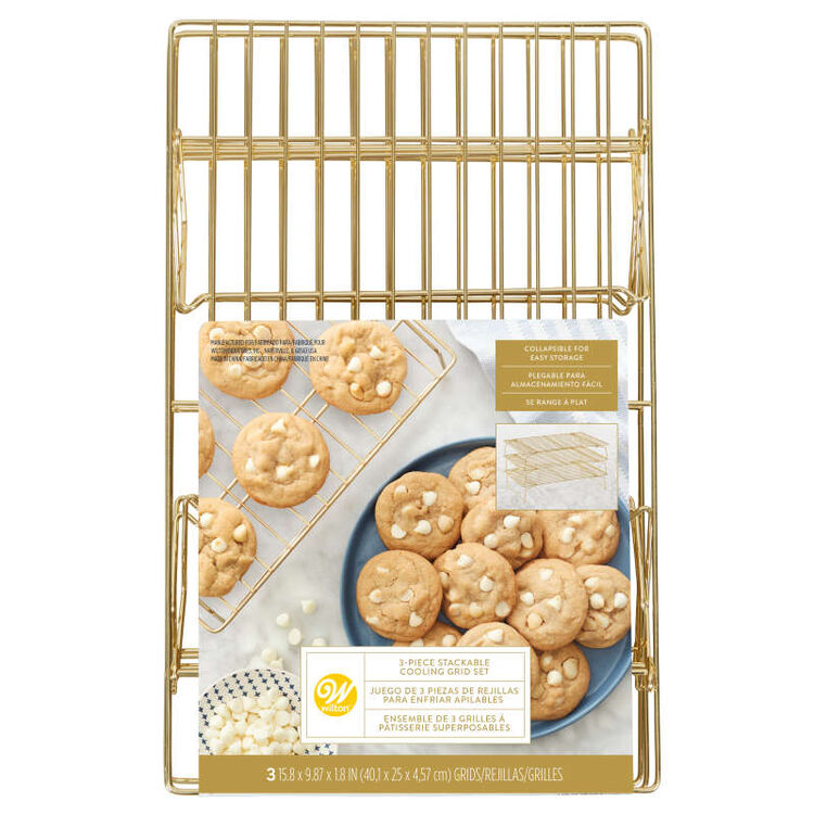 Wilton Gold Stacking Cooling Grid