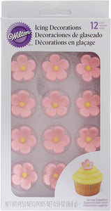 Wilton Icing Decorations Petal Pink