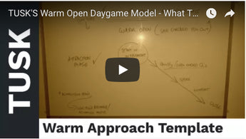 TUSK'S Warm Open Daygame Model - What To Do When A Girl Checks You Out (ioi) (Daygame Tips)