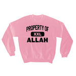 PROPERTY OF ALLAH SWEATSHIRT