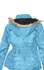 Girls' Fashionable Jacket with Faux Fur Hoody