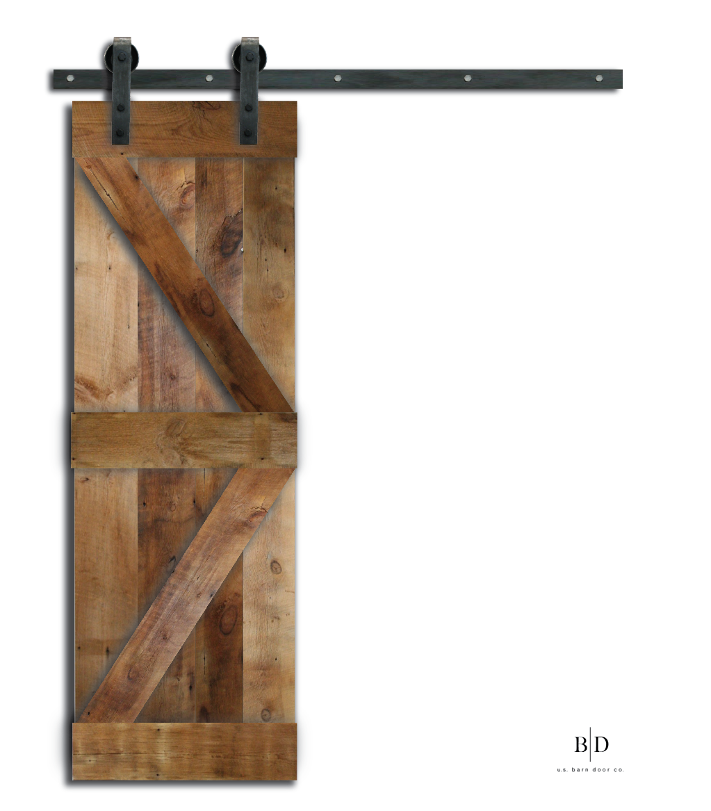 British Brace Barn Door