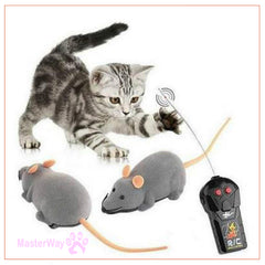 New Cat Toy Wireless Remote Control Mouse Electronic Mice