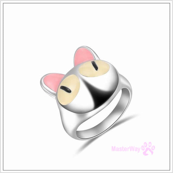 Cute Cat Fashion Ring Jewellery