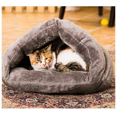 Cat Autumn and Winter Cozy Sleep Bag House