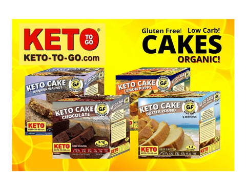 Organic Keto Butter Cakes