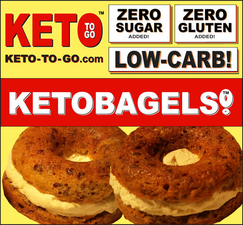 KETOGENIC MEAL PLANS DELIVERY - KETO TO GO - BEST KETO BAGELS FOR SALE!