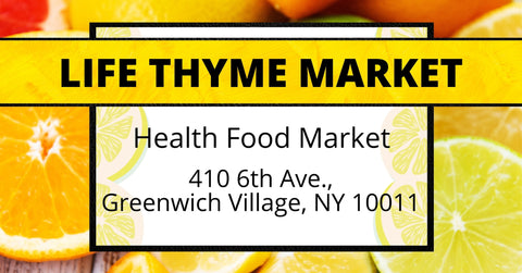 KETO TO GO at LIFE THYME MARKET in Greenwich Village New York City NY