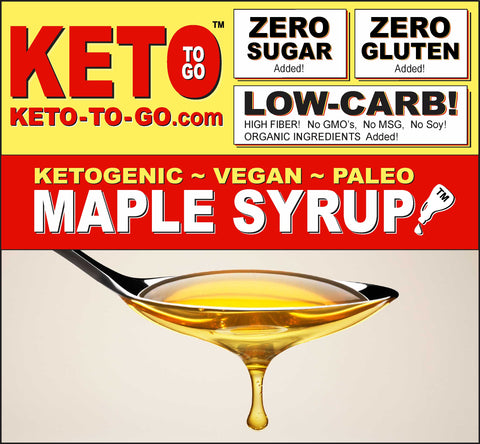 KETOGENIC MAPLE SYRUP REPLACEMENT!
