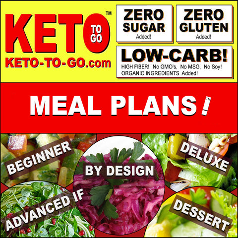 KETOGENIC FOODS DELIVERED NATION WIDE! By KETO TO GO!