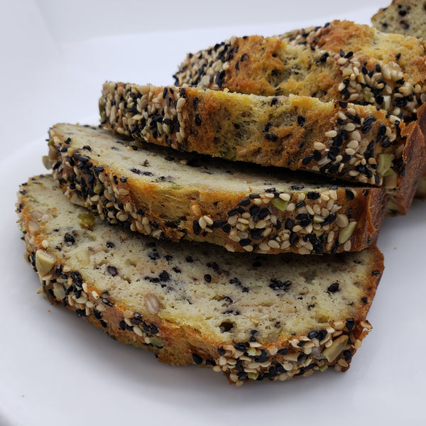 Organic Keto Four Seeds Butter Bread 12 Slices