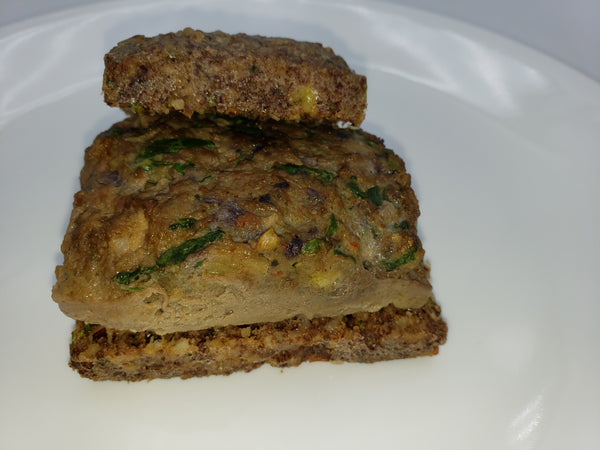 VEGGIE INFUSED ORGANIC MEAT Burgers