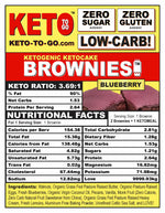 Blueberry Keto Brownies - 6 Pak