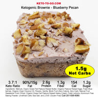 Ketogenic Brownies - Sampler 6-Pak