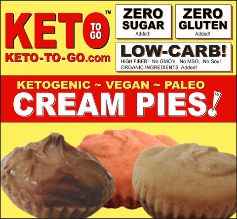 KETOVEGAN CREAM PIE TARTLETS