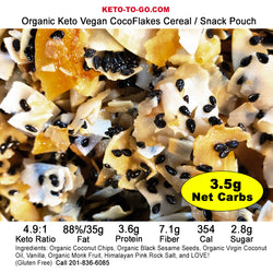 Ketogenic Cereal & Snack Sampler 3-Pak
