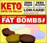 ICE CREAMY COOKIE FAT BOMBS