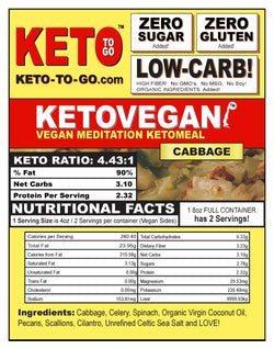 Keto Vegan Meditation - Cabbage