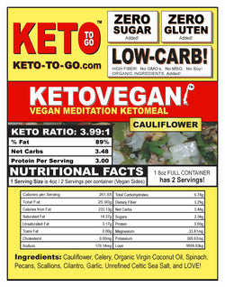 Keto Vegan Meditation - Cauliflower