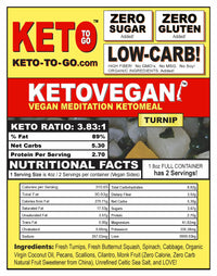 Keto Vegan Meditation - Turnip