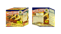 Organic Keto Lemon Poppy Butter Cake - 6 Servings