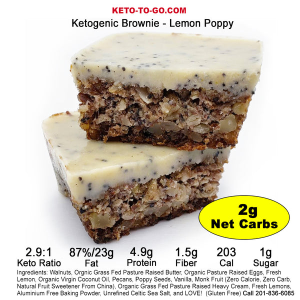 Keto Brownies Mixed Flavor Sampler 8-Pak
