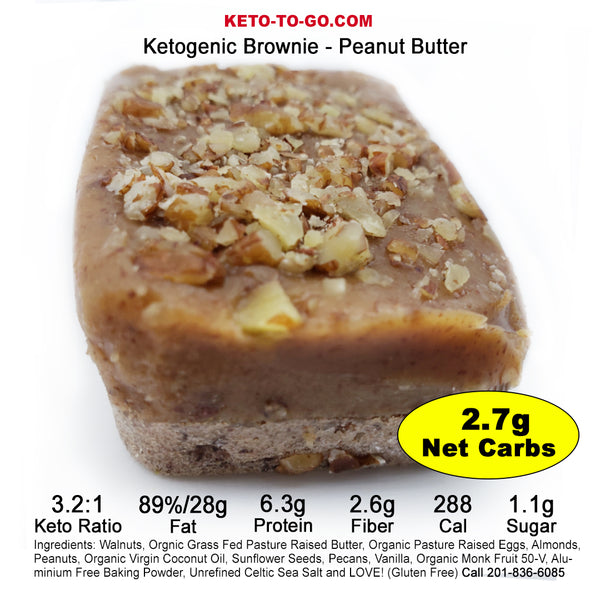 Ketogenic Brownies - Sampler 4-Pak