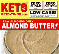 ALMOND BUTTER SNACK PACKETS ~ 10-Pak