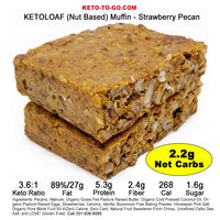 Strawberry KETO LOAF - 2-Pak