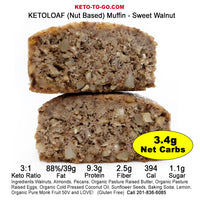 KETO Muffins SAMPLER - 7-Pak (Sweet & Nut Based)